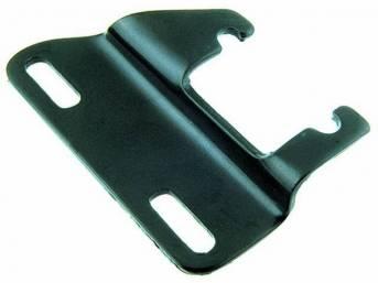 BRACKET, Alternator, Lower, Use On Header Installations, Black, Repro
