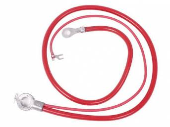 CABLE, Battery, Positive, Spring Ring Style, OE Style