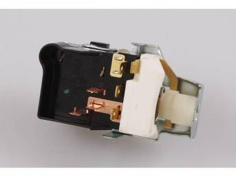 SWITCH, Head Light, 7 prong, std repro  ** See p/n C-2485-110 For AC-Delco switch, C-2485-3B for OE-type repro switch, this switch replaces GM P/N 1995154, 195155, 1995170, 1995180, 1995183, 1995192, 1995193, 1995199, 1995203, 1995216, 1995217 and 1995222