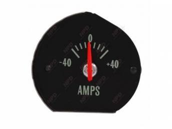 GAUGE, Electric Output / Ammeter, w/o bracket, correct