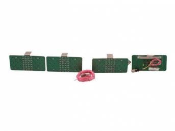 LED CONVERSION KIT, Tail Light, Incl 4 panels,