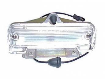 LIGHT ASSY, Back Up, RH or LH, Incl Housing, Lens, Bulb, Socket and Pigtail, Repro