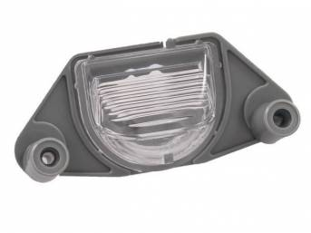 LIGHT ASSY, Rear License, replaces GM p/n 912116 and 16519986, Repro
