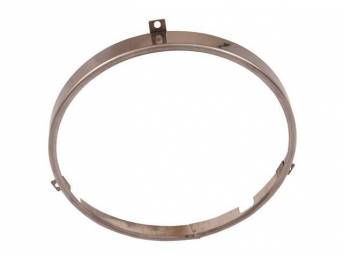 RING, Head Light Retaining, 1/2 inch thickness, Polished