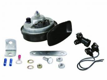 Horn Assy, High *A* Note, Plastic, Ac Delco Replacement  ** Replaces Gm P/N 1892164, 9000011, 9000514 And 12368063 **