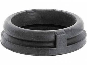 Horn Button Cap Retainer, rubber, OER repro