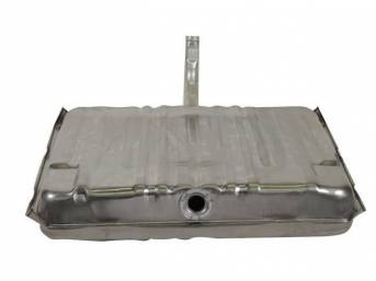 TANK, Fuel, 20 Gallon, US / Canadian-Made, 37 1/4 Inch X 30 Inch X 6 3/4 Inch size, incl filler neck, lock ring and gasket, Excellent Quality Repro