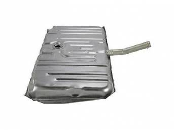 TANK ASSY, Fuel, by TANKS INC (Set Up for Fuel Injected Engines), 20 Gallon, Excellent Quality Repro