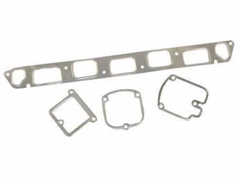 Gasket Set, Intake / Exhaust Manifold, Fel Pro