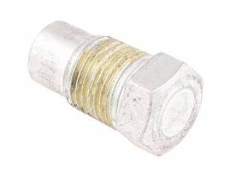 PLUG, Vacuum Hole or Fittings / Carburetor Vacuum