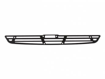 GRILLE, COWL INDUCTION SCOOP, Black Anodized (satin) Finish