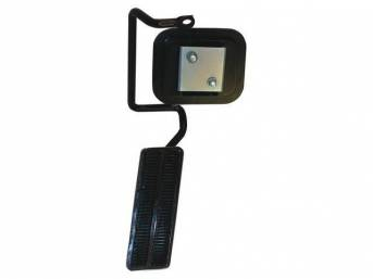 ASSY, Accelerator Pedal and Linkage, incl pedal pad