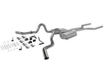 Exhaust System, Dual, 3 Inch Aluminized, Flowmaster American Thunder   ** Limited 3 Year Warranty **