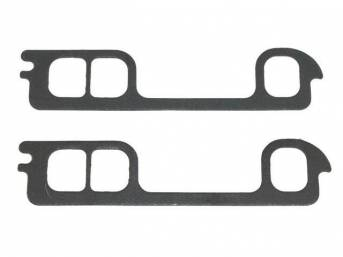 GASKET, Exhaust Header, 1.38 inch x 1.73 inch port size, Fel Pro, Perforated Steel Core w/ anti-stick backing