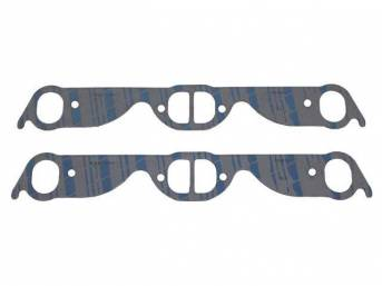 Gasket Set, Exhaust Header, 1.46 inch x 1.92 inch (split center), Fel Pro, Perforated Steel Core w/ anti-stick backing