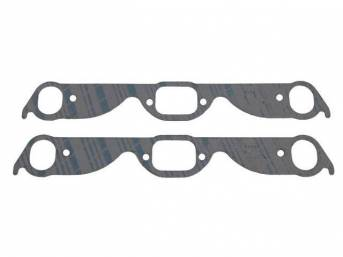 Gasket Set, Exhaust Header, 1.53 inch x 2.0 inch, Fel Pro, Perforated Steel Core w/ anti-stick backing