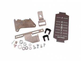 SHIFTER CONVERSION KIT, Powerglide 2SA/T or TH350 /