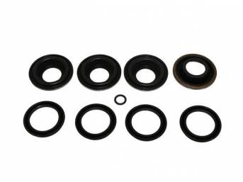 REPAIR KIT, Brake Caliper, Rear, Incl seals, o-rings and dust boots, 1 3/8 inch piston bore, Wagner