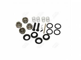 Rebuild Kit Brake Caliper 4 Piston Stainless Pistons