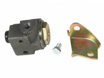 VALVE, Brake Pressure Regulator, Front, w/ bracket, this bracket allows it to mount just below the master cylinder, repro