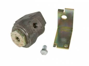VALVE, Brake Pressure Regulator, Rear, w/ bracket, repro