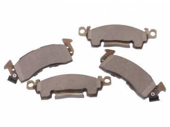 PAD SET, Disc Brake Caliper, Front, Bonded, Wagner ThermoQuiet Ceramic