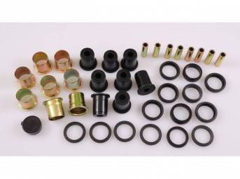 BUSHING KIT, Control Arm, Rear Axle, Black Graphite