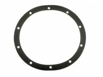 GASKET, Differential / Rear End Cover, 10 Bolt, Use W/ p/n C-5398-1A / -1B Cover, Repro