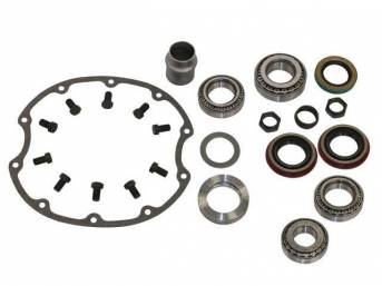 DIFFERENTIAL OVERHAUL KIT, GM 10 Bolt, 8.2 inch ring gear, Yukon Master kit is the most comprehensive and complete kit on the market using Timken components