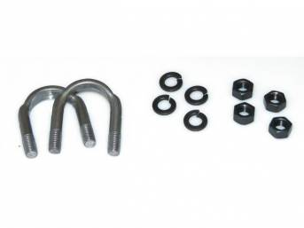 U-BOLT KIT, U-Joint To Flange Retainer, use w/ p/n 4635-4 U-Joint, Repro