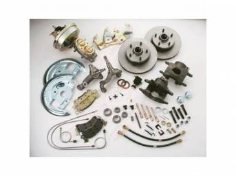Drum To Disc Conversion Kit Front Power W/