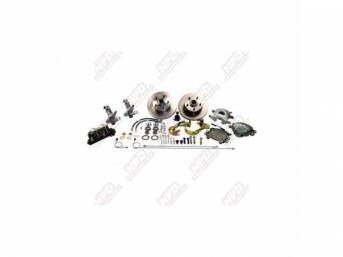 Drum To Disc Conversion Kit Front Mb W/