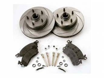 Disc Brake Upgrade Kit Front Incl Turbo Slotted