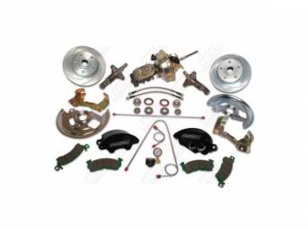 Drum To Disc Conversion Kit Front Pb W/