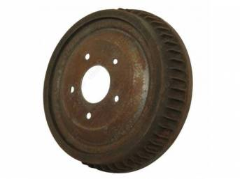 DRUM, Brake, Rear, 11 inch diameter x 2