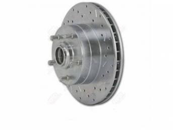 Hub And Rotor Brake Front Ssbc Rh Cross
