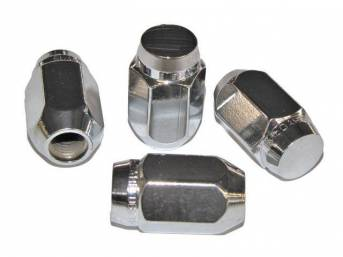 Lug Nut Set, Wheel, Torq Thrust, Hex Capped