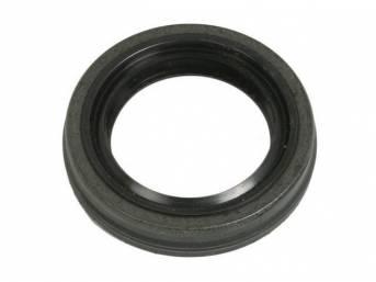 SEAL, Rear Axle Shaft Oil, .490 inch metal width, National Oil Seal (Federal Mogul)