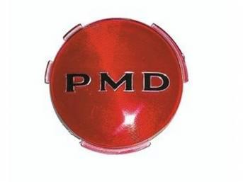 EMBLEM, Wheel Cover, *PMD*, 2 7/16 Inch diameter