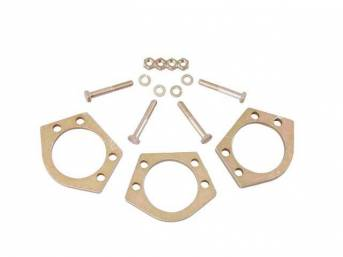 SPACERS, Ball Joint, SPC, (3) 1/4 inch spacers and hardware, Raises the upper control arm to improve frame clearance