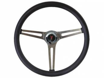 STEERING WHEEL, Classic GM, Grant, Black Foam Grip