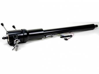 COLUMN, Tilt Steering, IDIDIT, Black Powdercoat Steel, 8-position