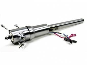 COLUMN, Tilt Steering, IDIDIT, Paintable Steel, 8-position tilt,