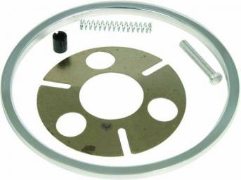 HORN ADAPTER KIT, Tilt Steering Column, Ididit, allows most 1955-68 GM stock steering wheels to adapt to an Ididit column