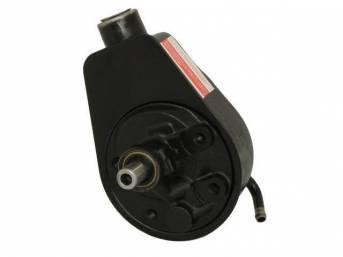 PUMP, P/S, W/ reservoir, does not incl cap or pulley, rebuilt