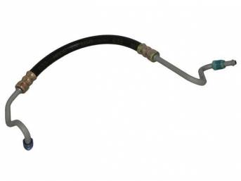 HOSE, P/S Gear Pressure, OE style repro  ** oe style means correct for length, bends and fittings **