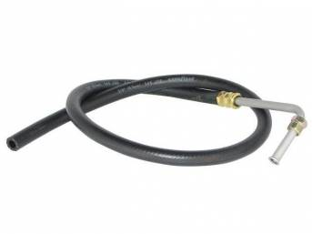 HOSE, P/S Fluid Return, Repro  ** oe style means correct length, bends and fittings ** also fits Chevy and Ford Truck, see catalog for fits not listed here **
