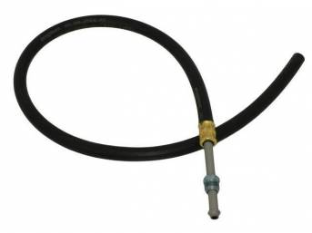 HOSE, P/S Fluid Return, Repro  ** oe style means correct for length, bends and fittings **