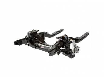 Hydroformed Subframe, Complete, Detroit Speed, ease of bolt-on