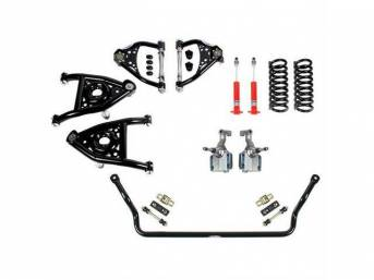 SPEED KIT, Front Suspension, Level 1, Detroit Speed,